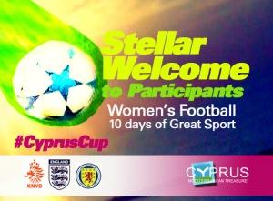 CyprusCup - International  Women's Football Trophee