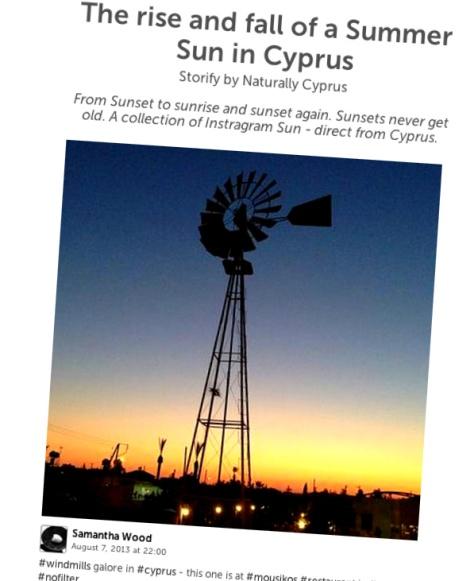 summer sun in cyprus